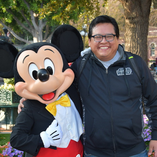 DTsosie and Mickey Mouse